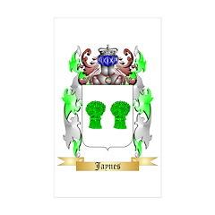 Jaynes Sticker (Rectangle 50 pk)