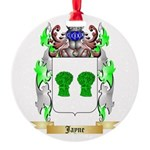 Jayne Round Ornament