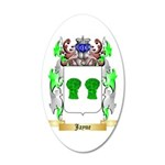 Jayne 35x21 Oval Wall Decal