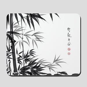 Asian Bamboo Mousepad