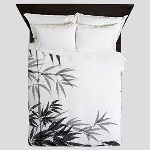 Asian Bamboo Queen Duvet