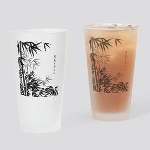 Asian Bamboo Drinking Glass