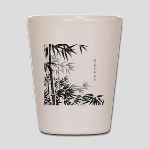 Asian Bamboo Shot Glass