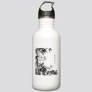 Asian Bamboo Water Bottle