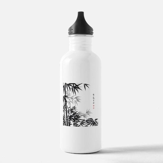 Asian Bamboo Water Bottle