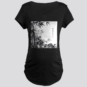 Asian Bamboo Maternity T-Shirt