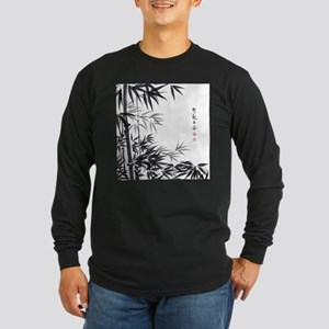 Asian Bamboo Long Sleeve T-Shirt