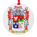 Javier Round Ornament