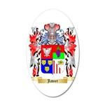 Javier 35x21 Oval Wall Decal
