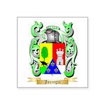 Jauregui Square Sticker 3