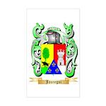 Jauregui Sticker (Rectangle)