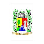 Jauregui Sticker (Rectangle 50 pk)