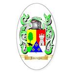 Jauregui Sticker (Oval 50 pk)
