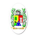 Jauregui 35x21 Oval Wall Decal