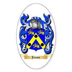 Jaume Sticker (Oval)