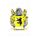 Jaspersen Sticker (Rectangle 50 pk)