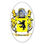 Jaspersen Sticker (Oval 50 pk)