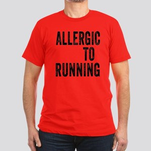 Allergic to Running T-Shirt
