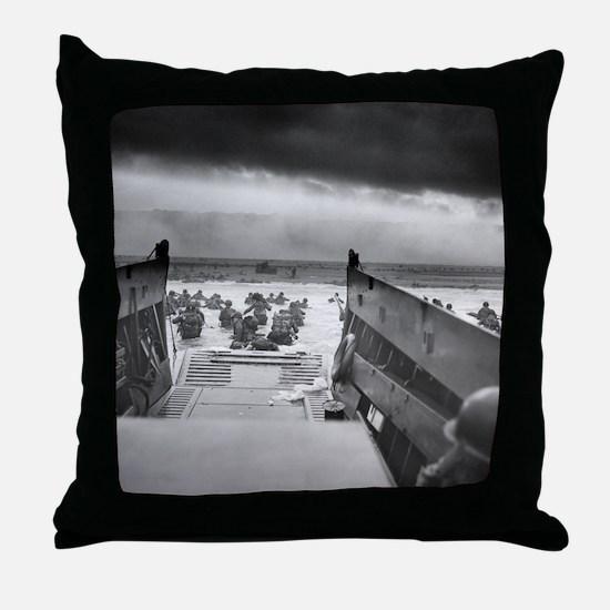 D-Day 6/6/1944 Throw Pillow