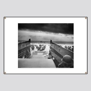 D-Day 6/6/1944 Banner