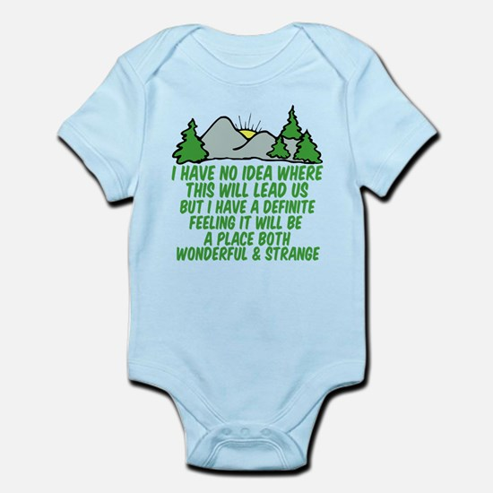 Twin Peaks Trees Infant Bodysuit