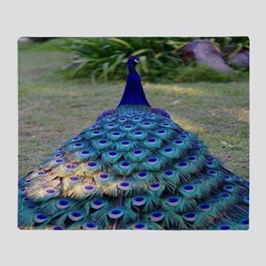 Peacock Throw Blanket