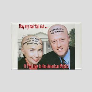 Anti-Hillary Clinton Rectangle Magnet
