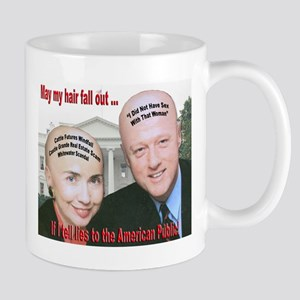 Anti-Hillary Clinton Mug