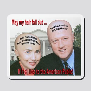 Anti-Hillary Clinton Mousepad