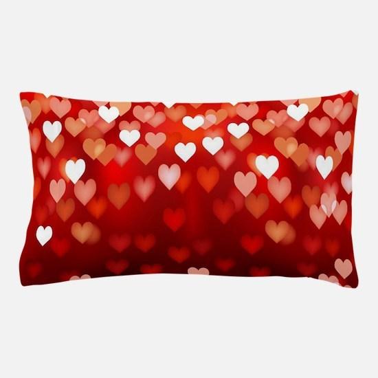 1,2,3,4,5.....hearts Pillow Case