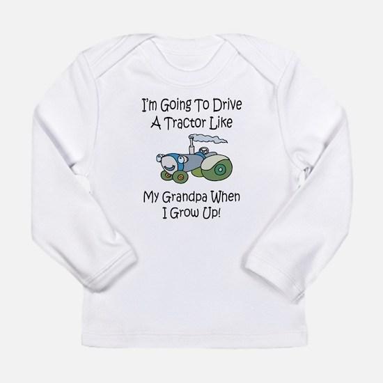 tractorgrandpab Long Sleeve T-Shirt
