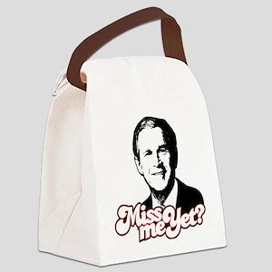 George Bush - Miss Me Yet Canvas Lunch Bag