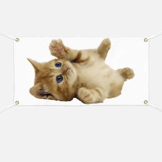 Tickle Me Kitten Banner