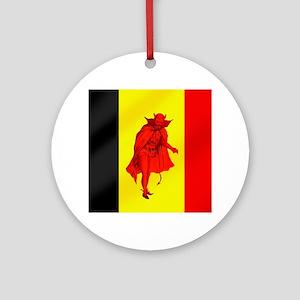 Belgian Red Devils Ornament (Round)