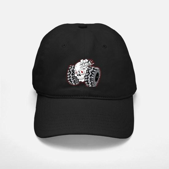 OffRoad Styles Skull Roller Baseball Hat
