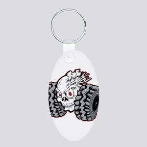 OffRoad Styles Skull Roller Keychains
