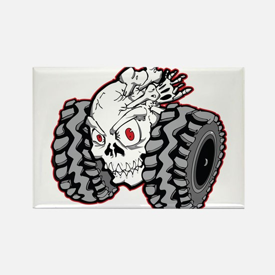 OffRoad Styles Skull Roller Magnets