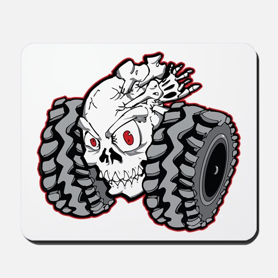 OffRoad Styles Skull Roller Mousepad