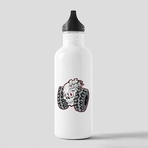 OffRoad Styles Skull Roller Water Bottle