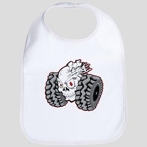 OffRoad Styles Skull Roller Bib