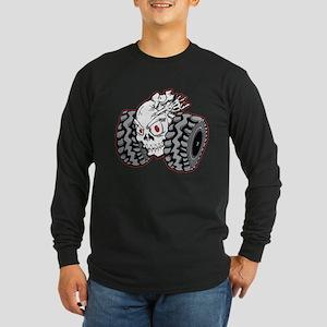 OffRoad Styles Skull Roller Long Sleeve T-Shirt