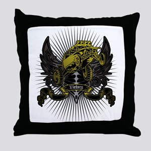 victory buggy Throw Pillow