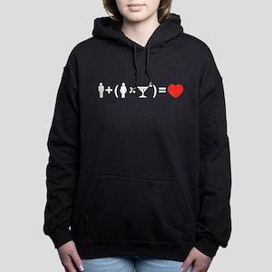 The Love Equation for Women Women's Hooded Sweatsh