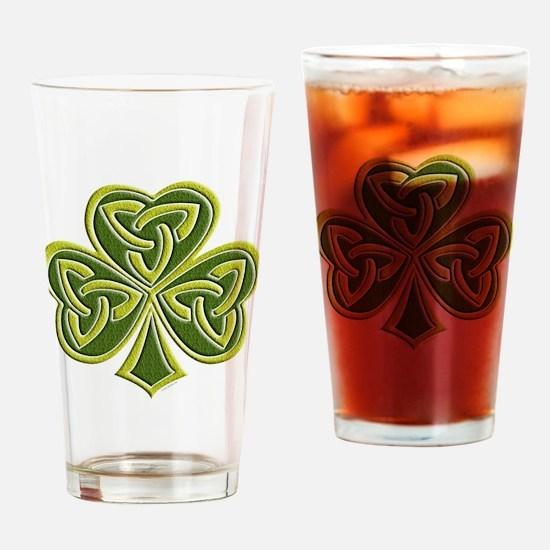 Celtic Trinity Drinking Glass