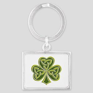 Celtic Trinity Landscape Keychain