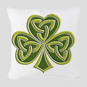 Celtic Trinity Woven Throw Pillow