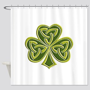 Celtic Trinity Shower Curtain