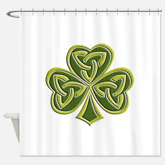 Celtic Trinity Shower Curtain
