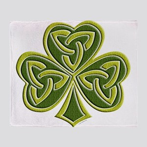 Celtic Trinity Throw Blanket