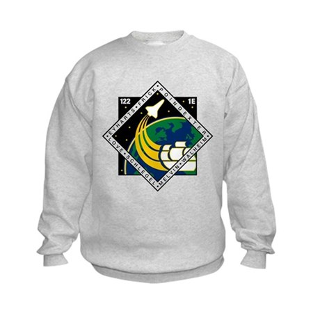 STS 122 Atlantis Kids Sweatshirt
